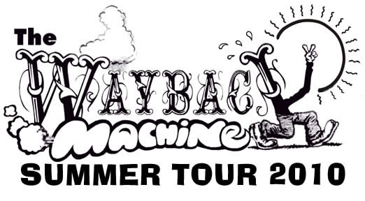 Wayback Machine Spring Tour of 2009